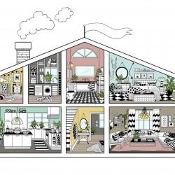 Årets hus färgmini